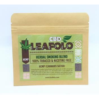 Leafolo Hemp Blend - (1 Pocket Pack | Net Weight: 20g) - EXCLUSIVE TO ONLINE