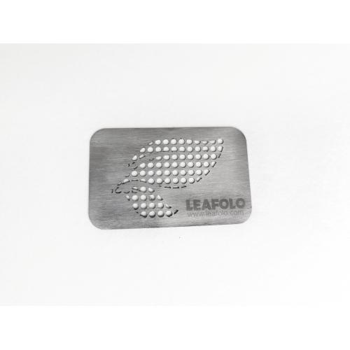Leafolo Herb Card Grinder - Stainless Steel