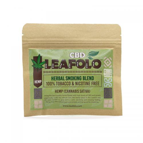 Leafolo Hemp Blend - (1 Pocket Pack | Net Weight: 20g) - PRODUCT TRIAL